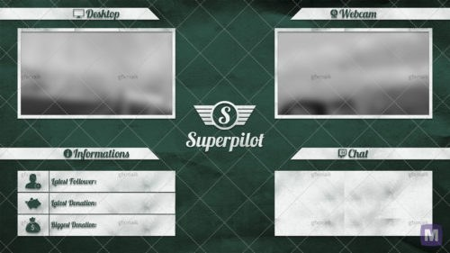 Superpilot-Waitingscreen