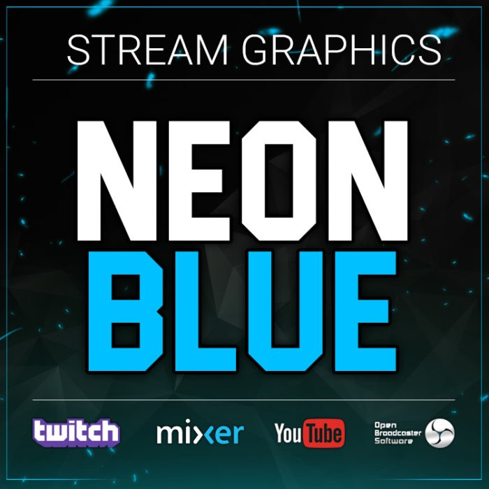 graphic bundle blue stream