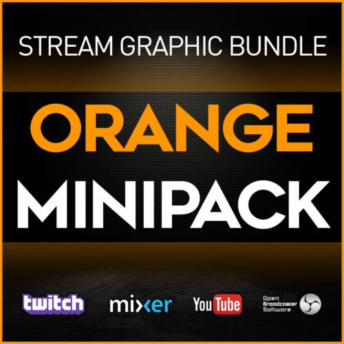 stream graphic bundle orange minipack