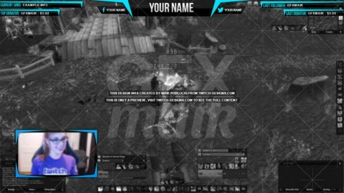 twitch-overlay-blue-Eliminate