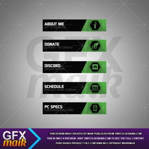 Twitch-Panels-Hexa