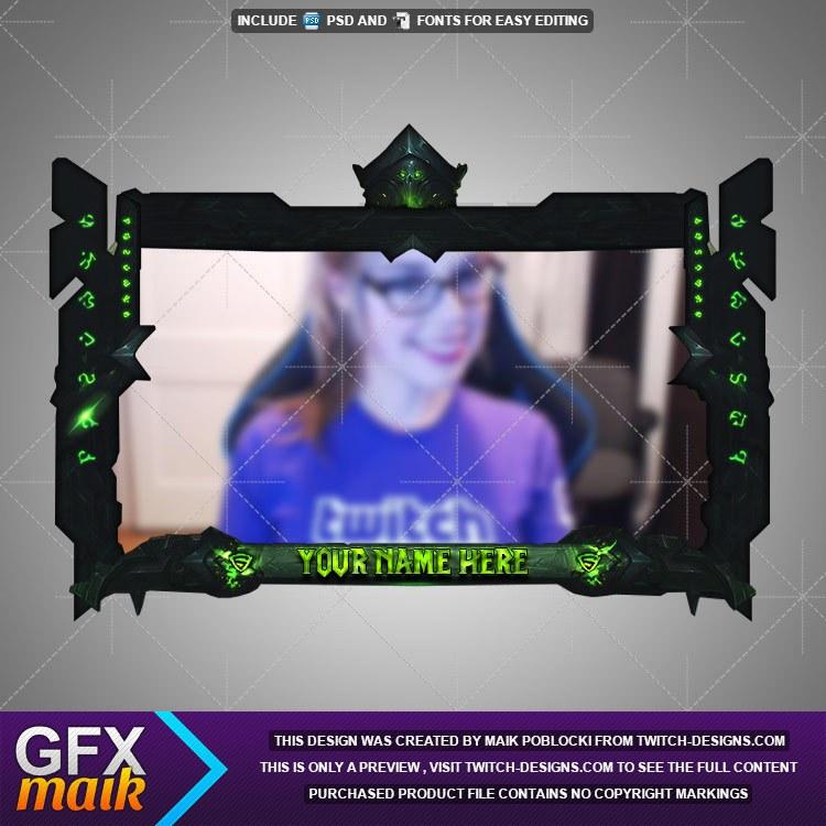 legion facecam twitch designs