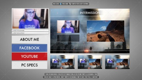 Twitch-Overlay-Battlefield-1-Minipack