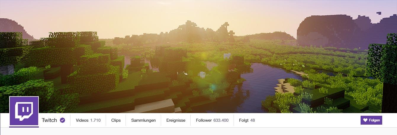 Free Twitch Banner Minecraft