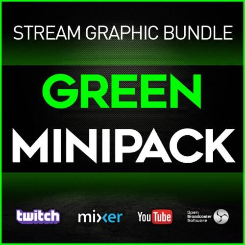 stream graphic bundle green minipack