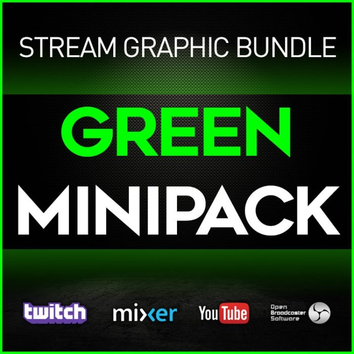 stream graphic bundle green minipack