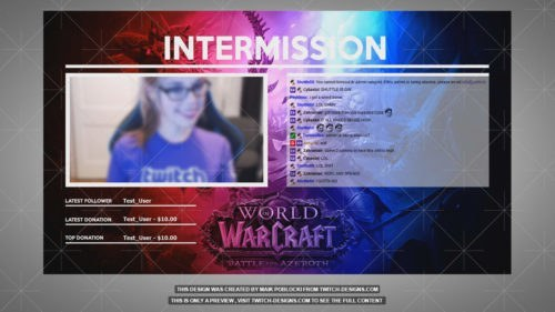 world of warcraft overlay