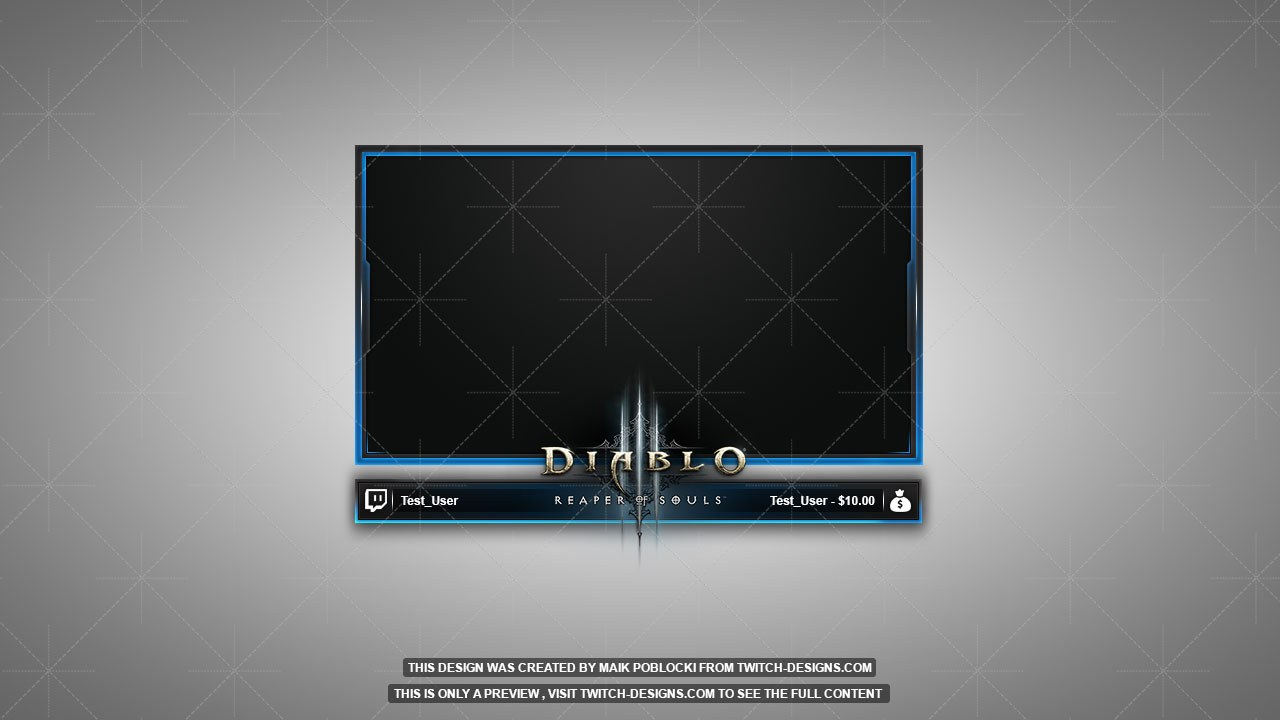diablo 3 ros facecam overlay twitch designs