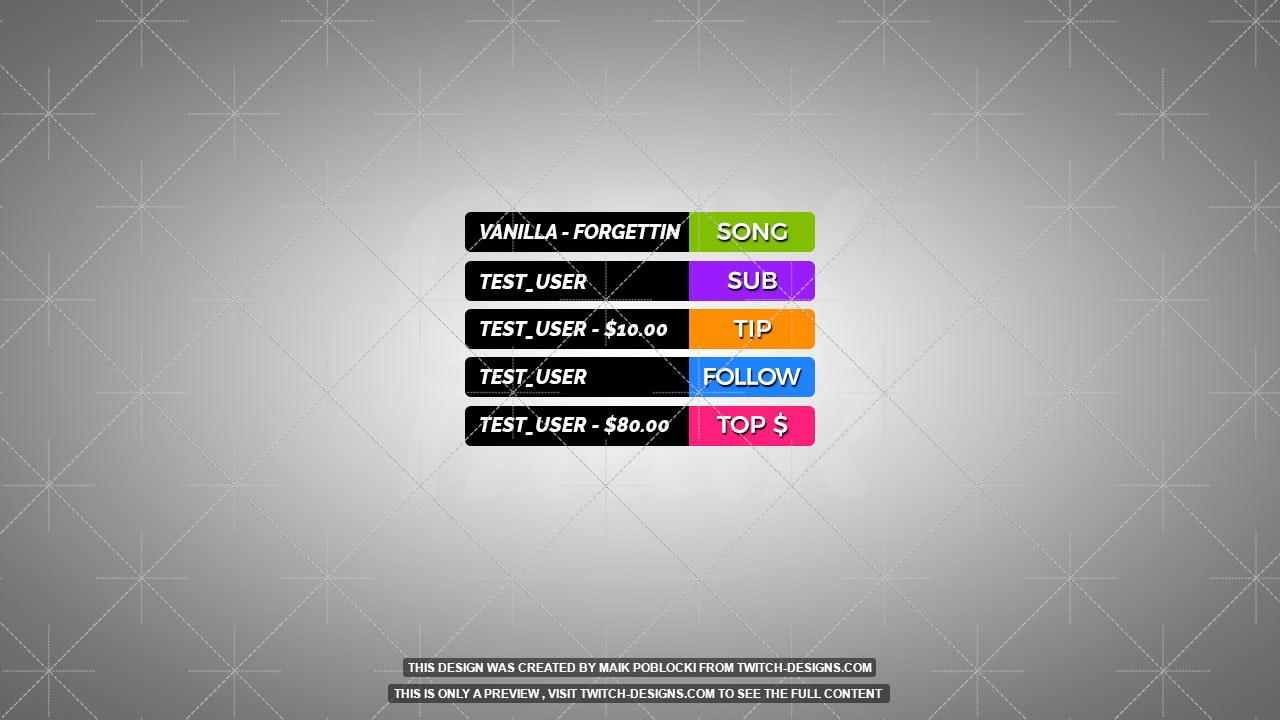 Twitch Overlays - Your #1 Source for Twitch Overlay, Panels