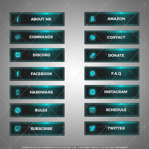 Twitch Overlays - Your #1 Source for Twitch Overlay, Panels and more